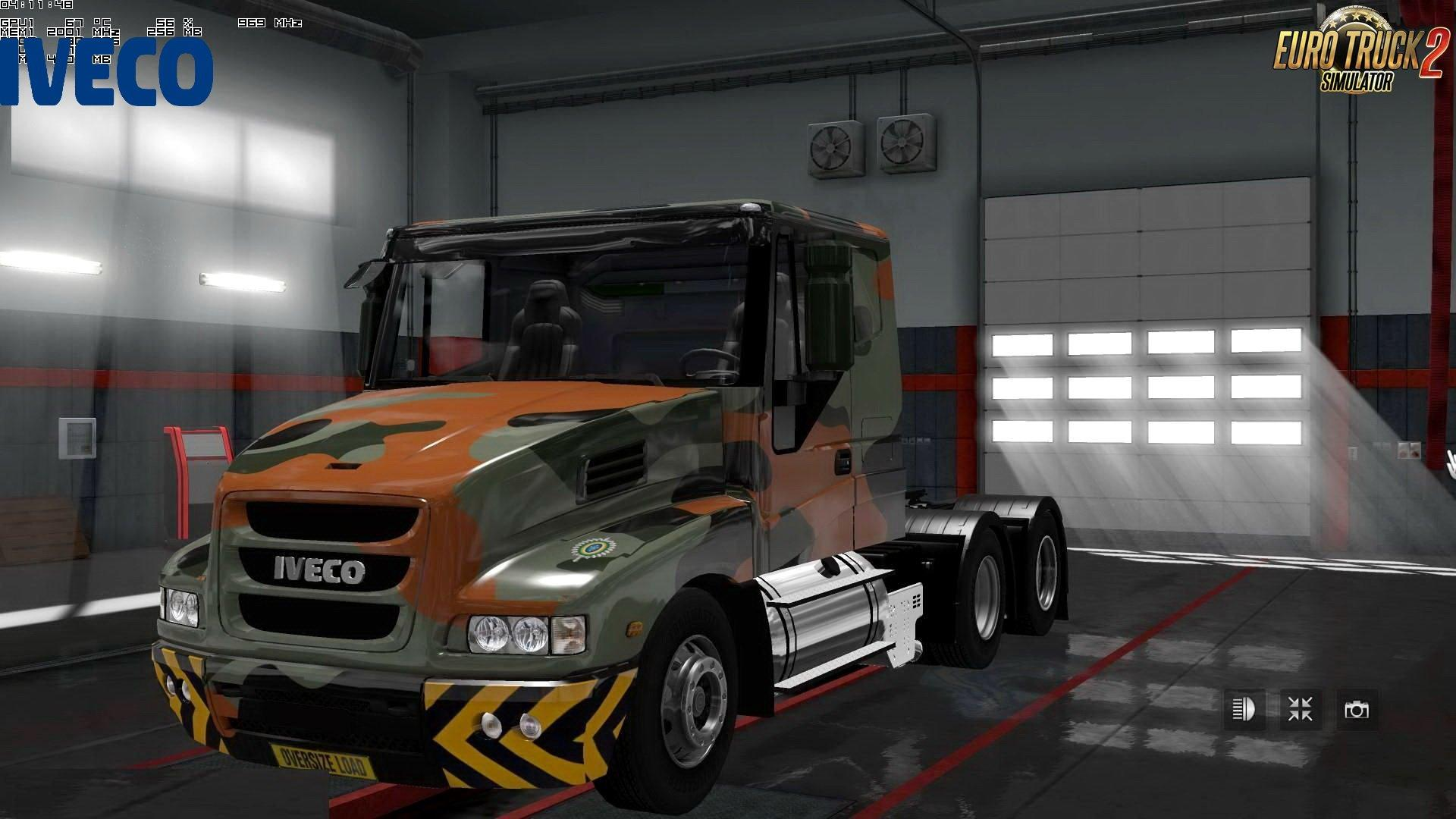 IVECO STRATOR + INTERIOR V4.1 BY CP_MORTIFICATION ETS2 -Euro Truck Simulator 2 Mods