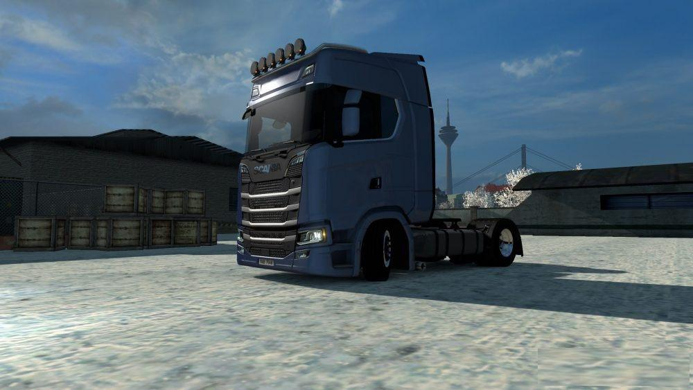 LOWDECK FOR SCANIA S BY SCS TUNING MOD -Euro Truck Simulator