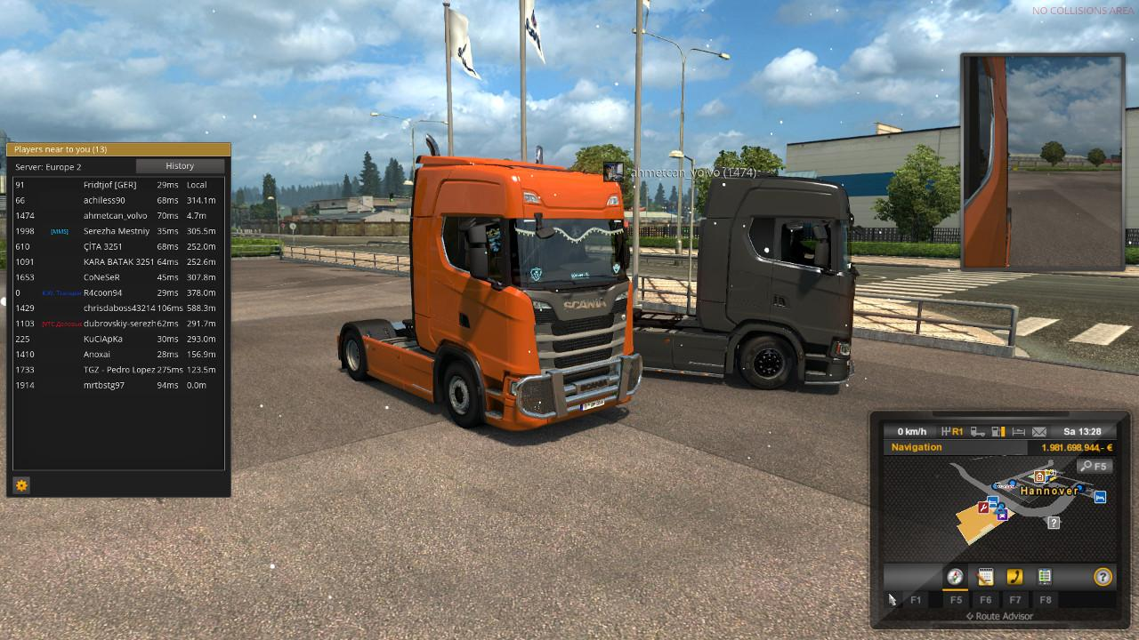 [MULTIPLAYER COMPATIBLE] MIGHTY GRIFFIN TUNING FOR SCANIA S 1.30 TUNING MOD -Euro Truck ...
