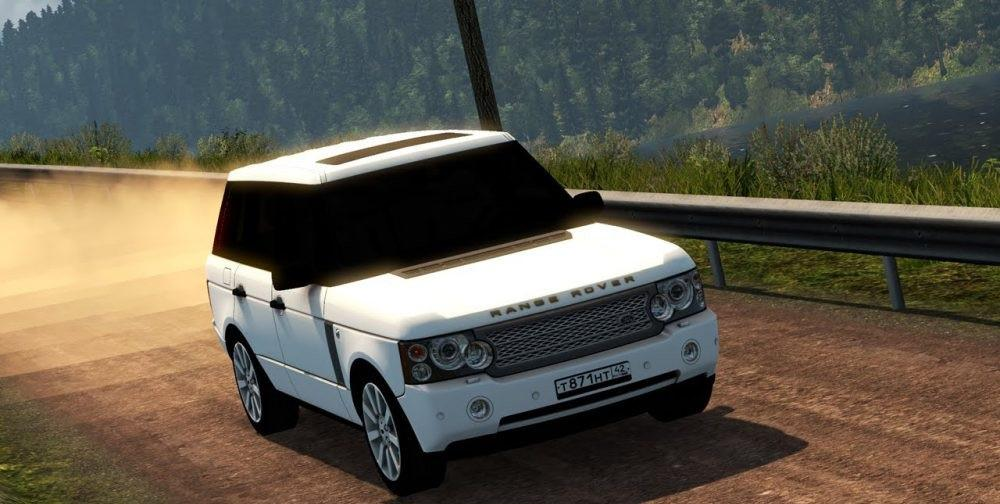 RANGE ROVER [1 27-1 30] CAR MOD -Euro Truck Simulator 2 Mods