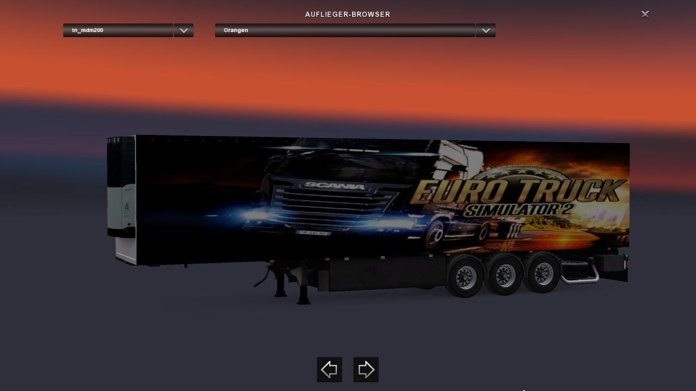 trailer pack coolliner by news update ets2 euro. Black Bedroom Furniture Sets. Home Design Ideas