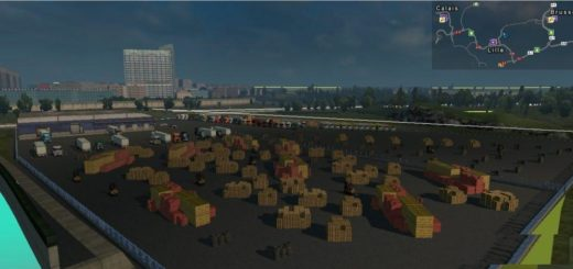 EUROPE MAP WITH 11 COUNTRYS BY MORCOS BACSI ETS 2 -Euro