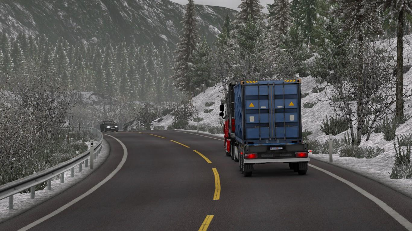 Used Cars And Trucks >> WINTER ADD-ON FOR REALISTIC GRAPHICS MOD AND FROSTY WINTER MOD V0.9.3 ETS2 -Euro Truck Simulator ...