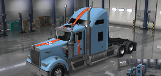 Kenworth W990 Addons Templates V1 2 For Ats Euro