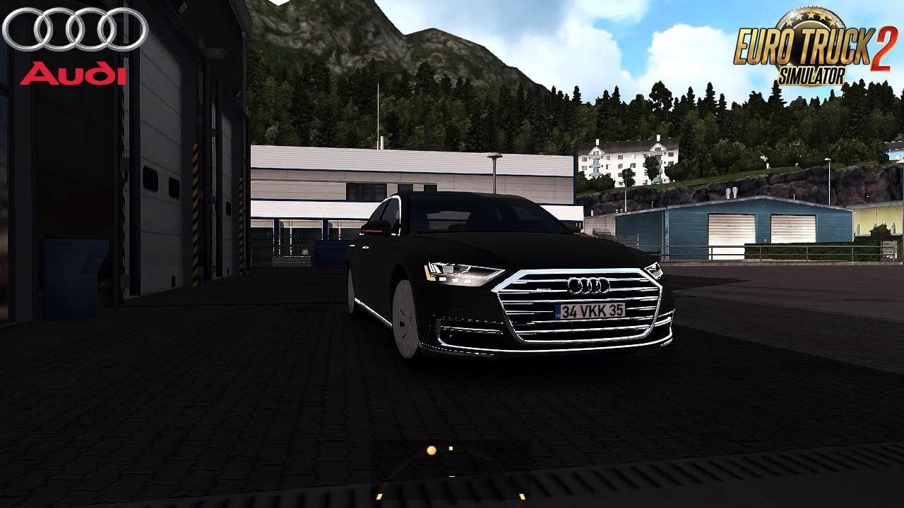 AUDI A8 LONG 2018 + INTERIOR V1.0 (REWORKED) 1.30.X CAR ...