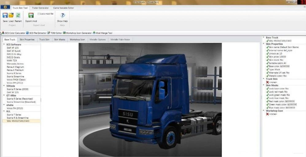 ETS2 STUDIO TRAILER DATA 1 30 X MOD -Euro Truck Simulator 2 Mods