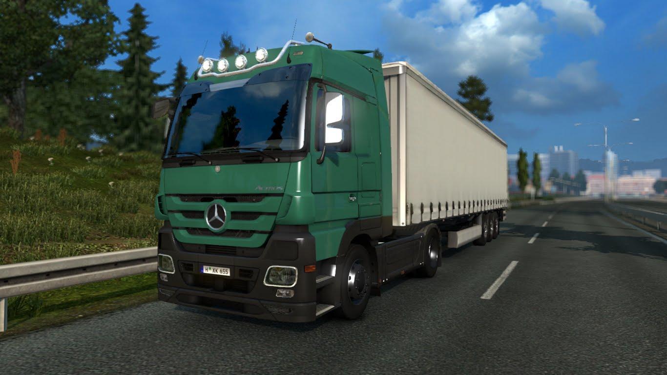 mercedes actros mp 3 sound ets2 euro truck simulator 2 mods. Black Bedroom Furniture Sets. Home Design Ideas