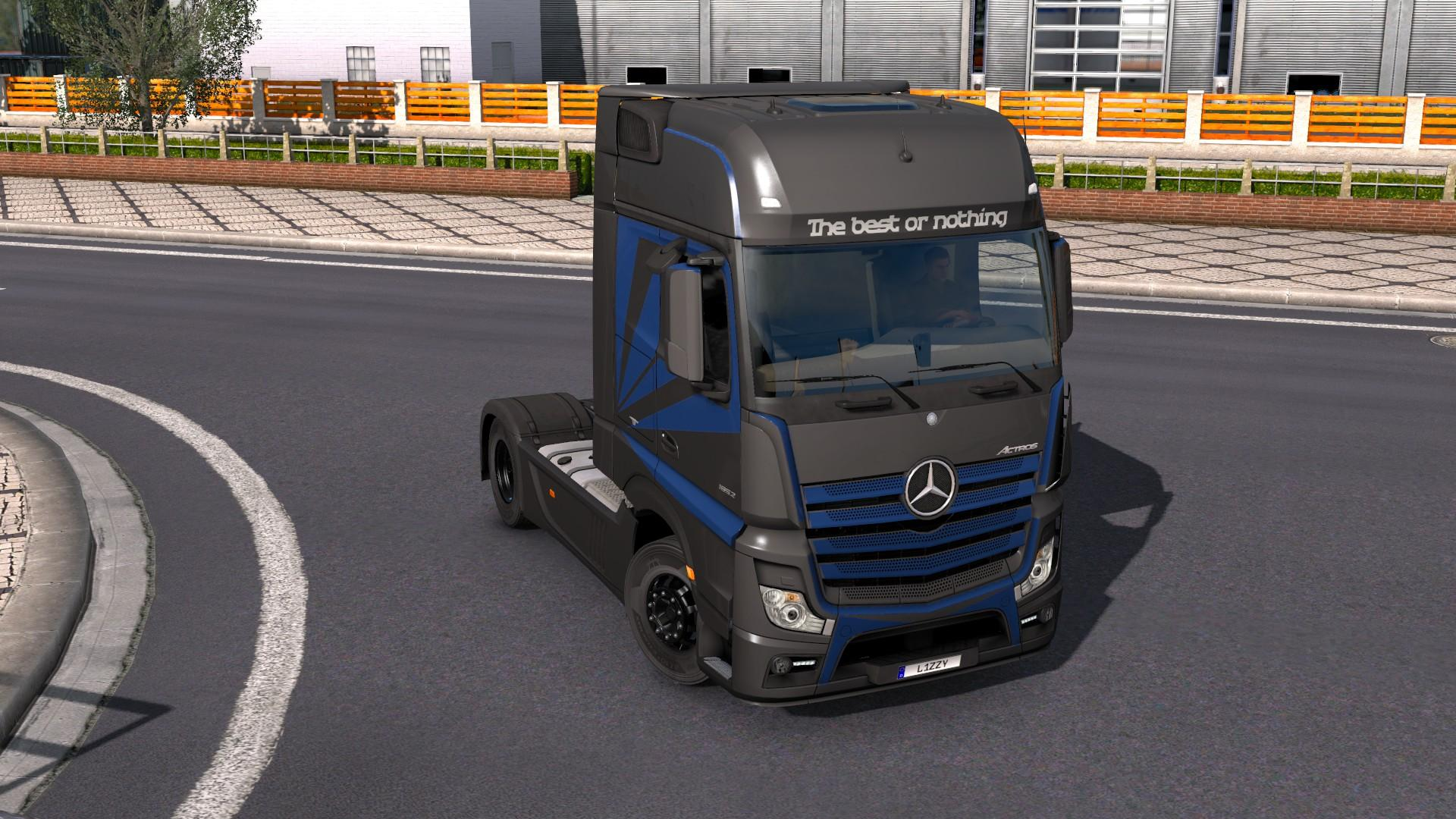 mercedes benz actros 2014 metallic paintjob by l1zzy truck skin euro truck simulator 2 mods. Black Bedroom Furniture Sets. Home Design Ideas