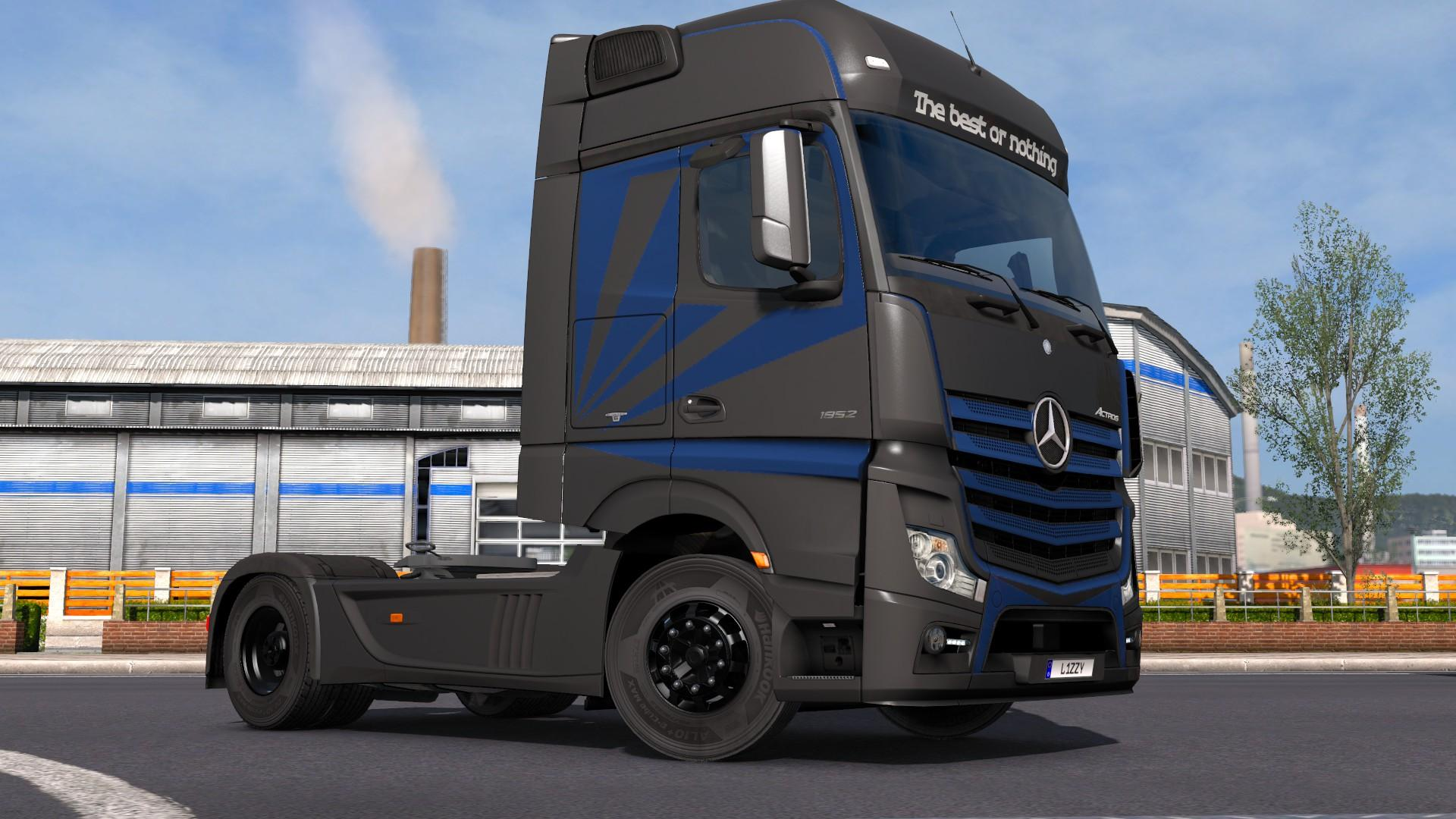 Mercedes benz actros 2014 metallic paintjob by l1zzy for Mercedes benz truck 2014