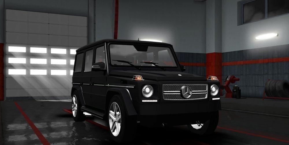 Mercedes benz amg brabus g65 v1 0 car mod euro truck for Mercedes benz g65 amg