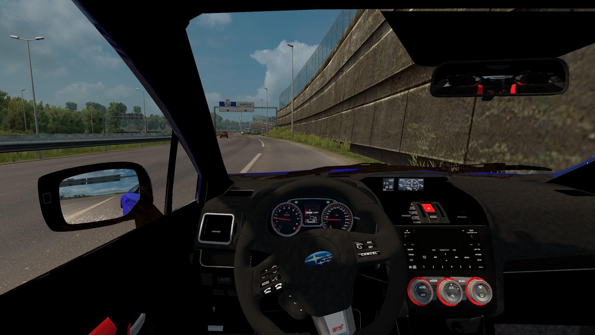Subaru Impreza Wrx Sti 2017 V1 0 Car Mod Euro Truck Simulator 2 Mods