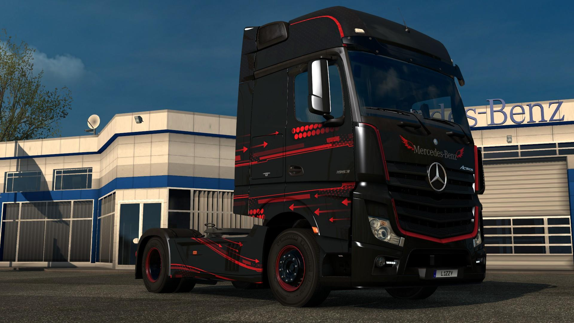 Mercedes benz actros 2014 accessio paintjob by l1zzy for Mercedes benz truck 2014