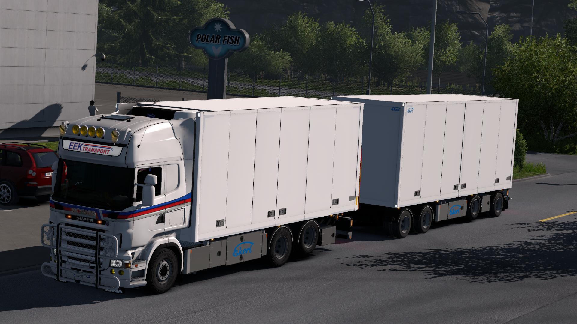 Ekeri Trailers By Kast V1 3 1 30 X Trailer Mod Euro Truck