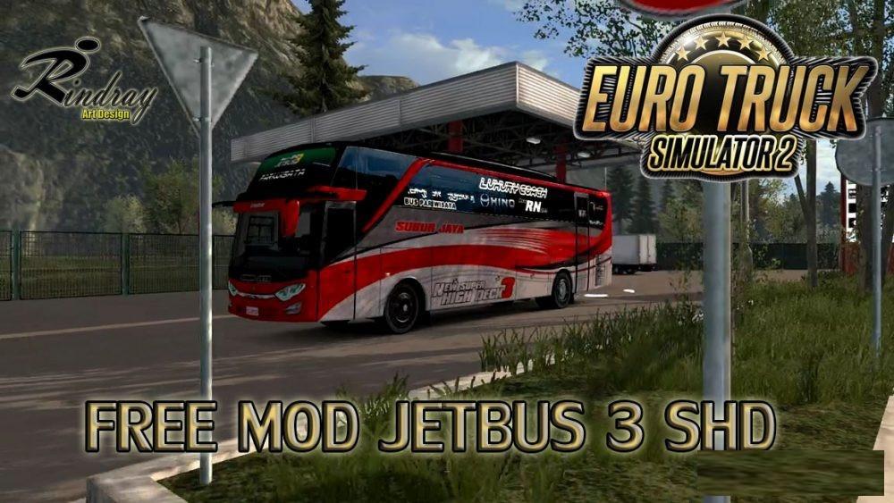 Jetbus 3 Shd V1 0 Bus Mod Euro Truck Simulator 2 Mods