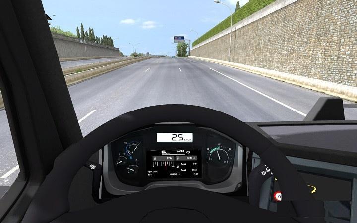 POLATLI RENAULT RANGE T DASHBOARD V1.0 INTERIOR MOD -Euro Truck ...