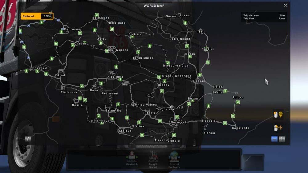 download mod ets2 map romania