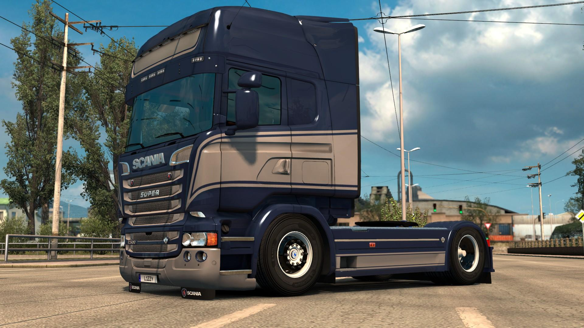 SCANIA RJL - GRACE PAINTJOB BY L1ZZY TRUCK SKIN -Euro ...