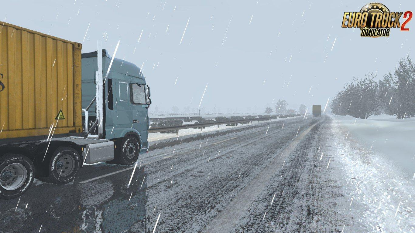 SEASONAL ADD-ON FOR REALISTIC GRAPHICS MOD V1 2 ETS2 -Euro Truck