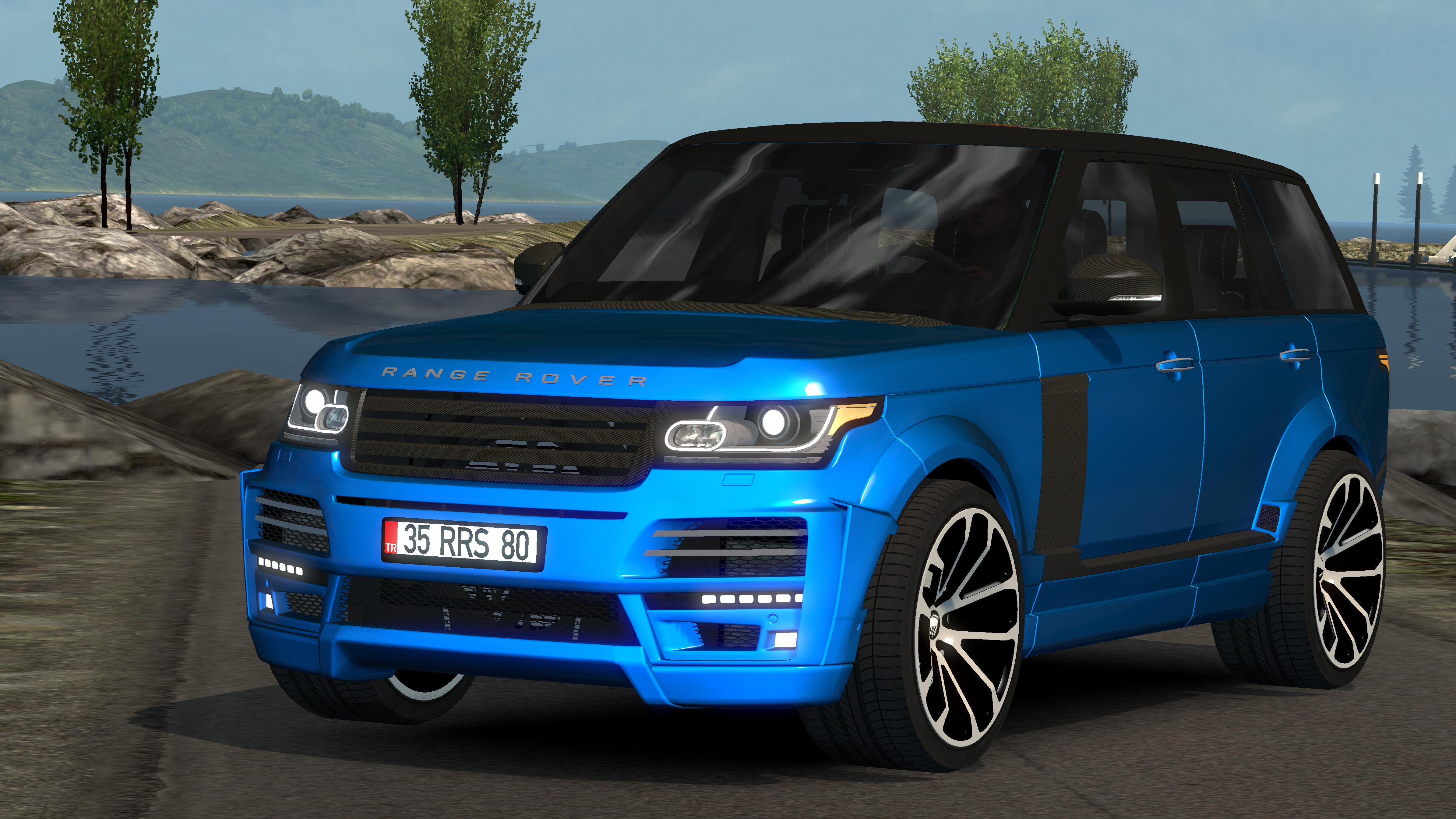Range Rover Startech 2018 V1 0 Car Mod Euro Truck Simulator 2 Mods