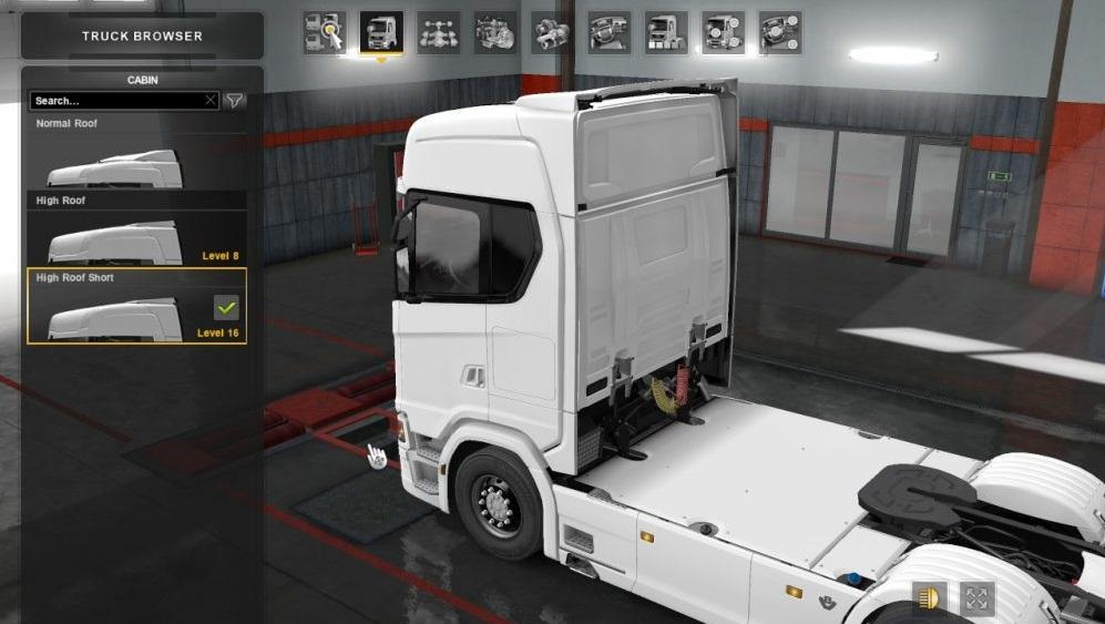 8X4 CABIN FOR ALL CHASSIS 1 31 X TUNING MOD -Euro Truck