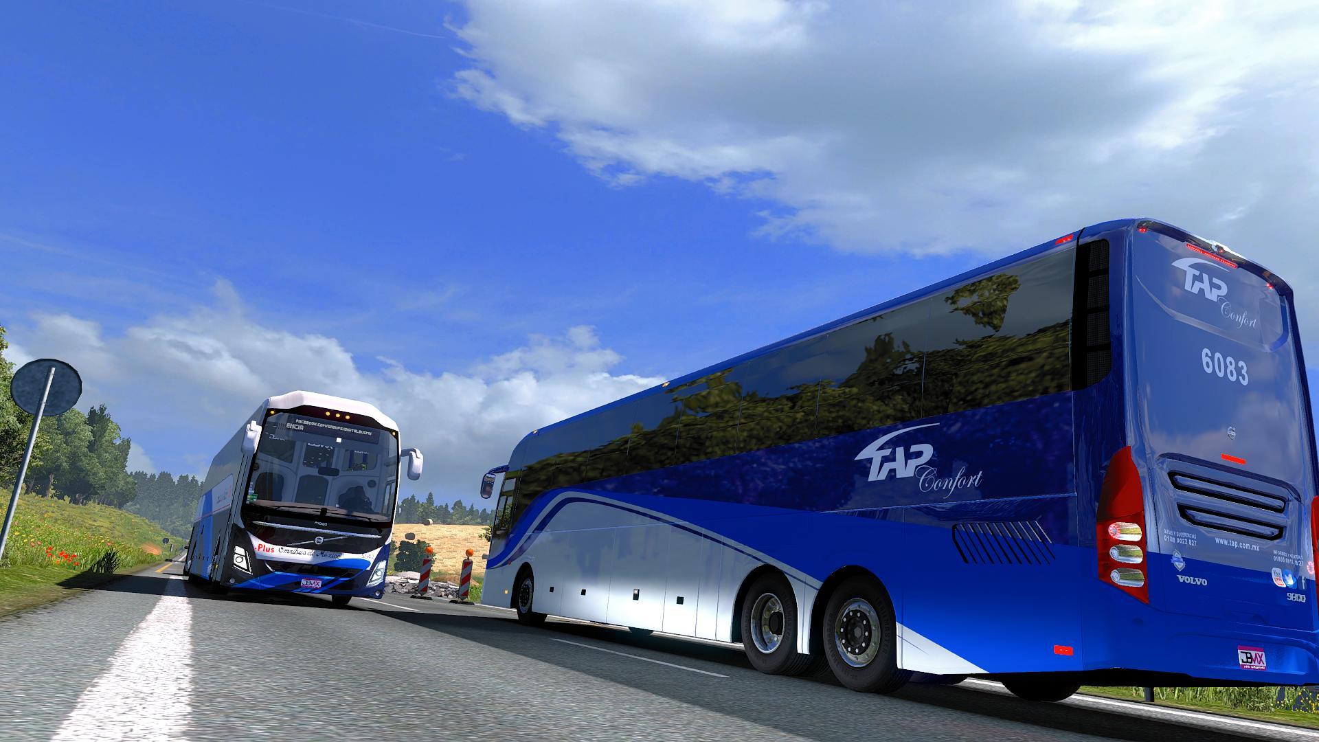 BUS VOLVO 9800 PREMIUM 1.30 BUS MOD -Euro Truck Simulator 2 Mods