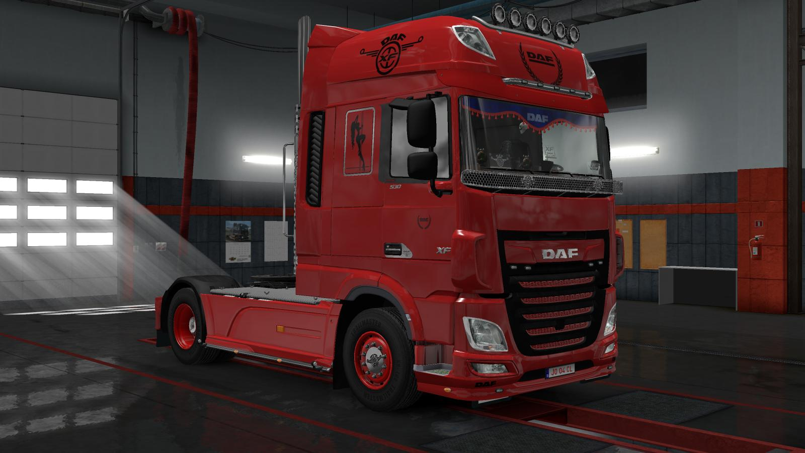 daf euro 6 truck skin euro truck simulator 2 mods. Black Bedroom Furniture Sets. Home Design Ideas
