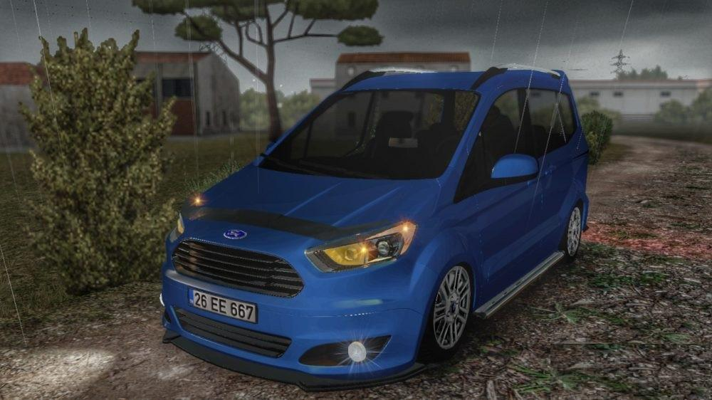ford tourneo courier car mod euro truck simulator. Black Bedroom Furniture Sets. Home Design Ideas