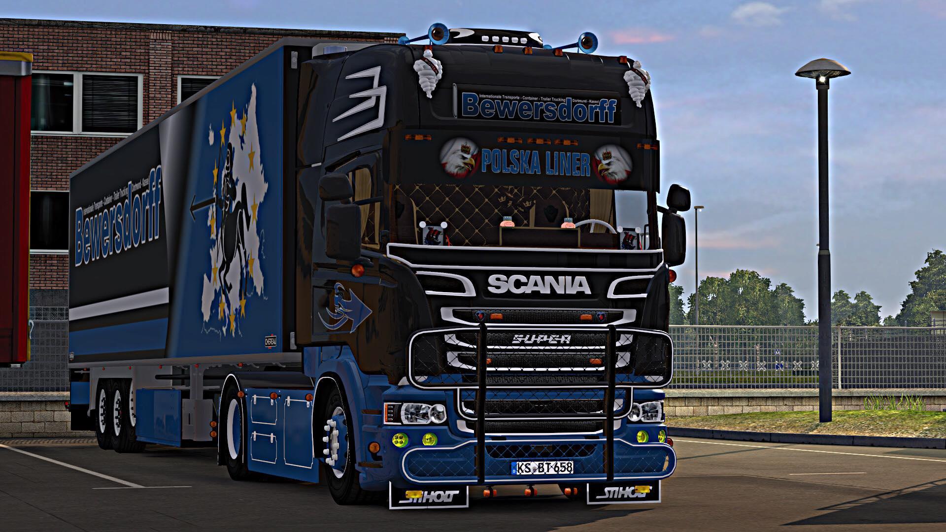 Scania Bewersdoof 1 30 Truck Mod Euro Truck Simulator 2 Mods