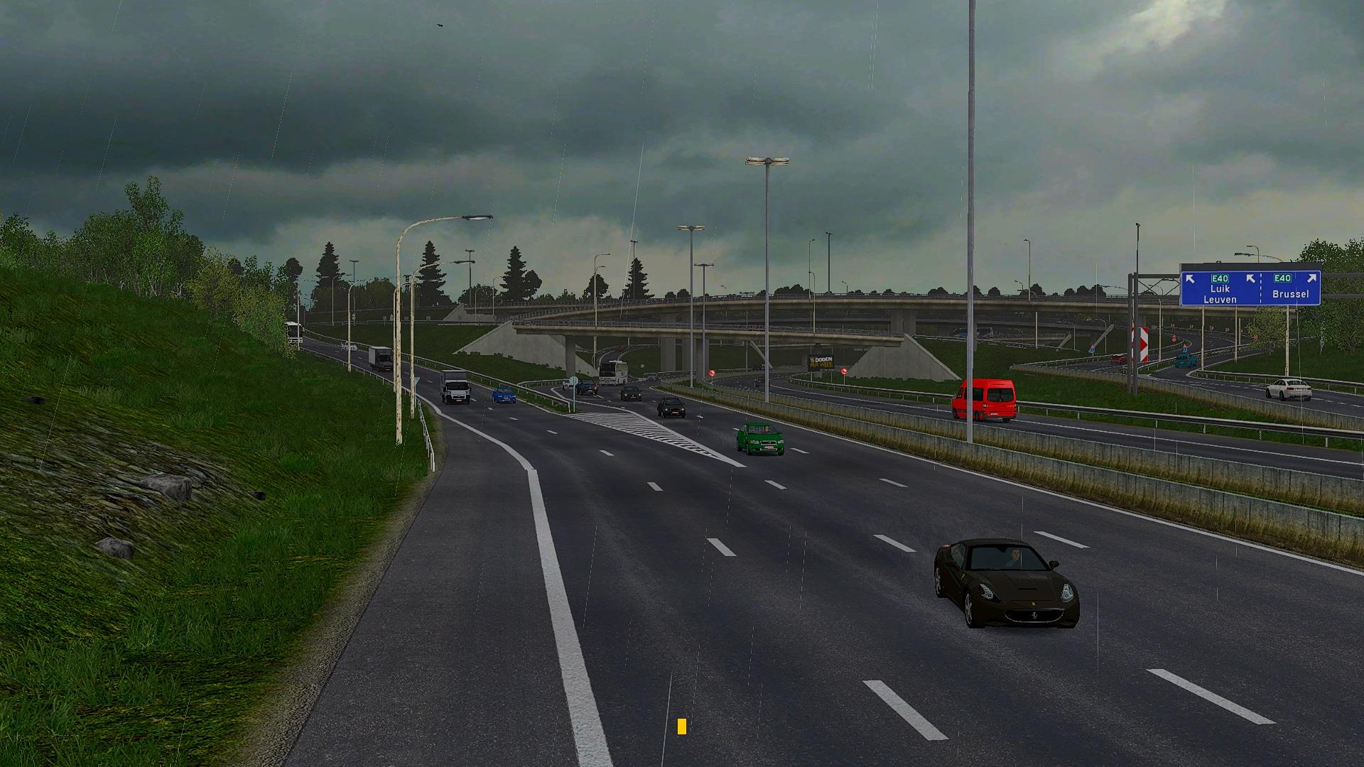 TRAFFIC DENSITY V1 4 1 30 X MOD -Euro Truck Simulator 2 Mods