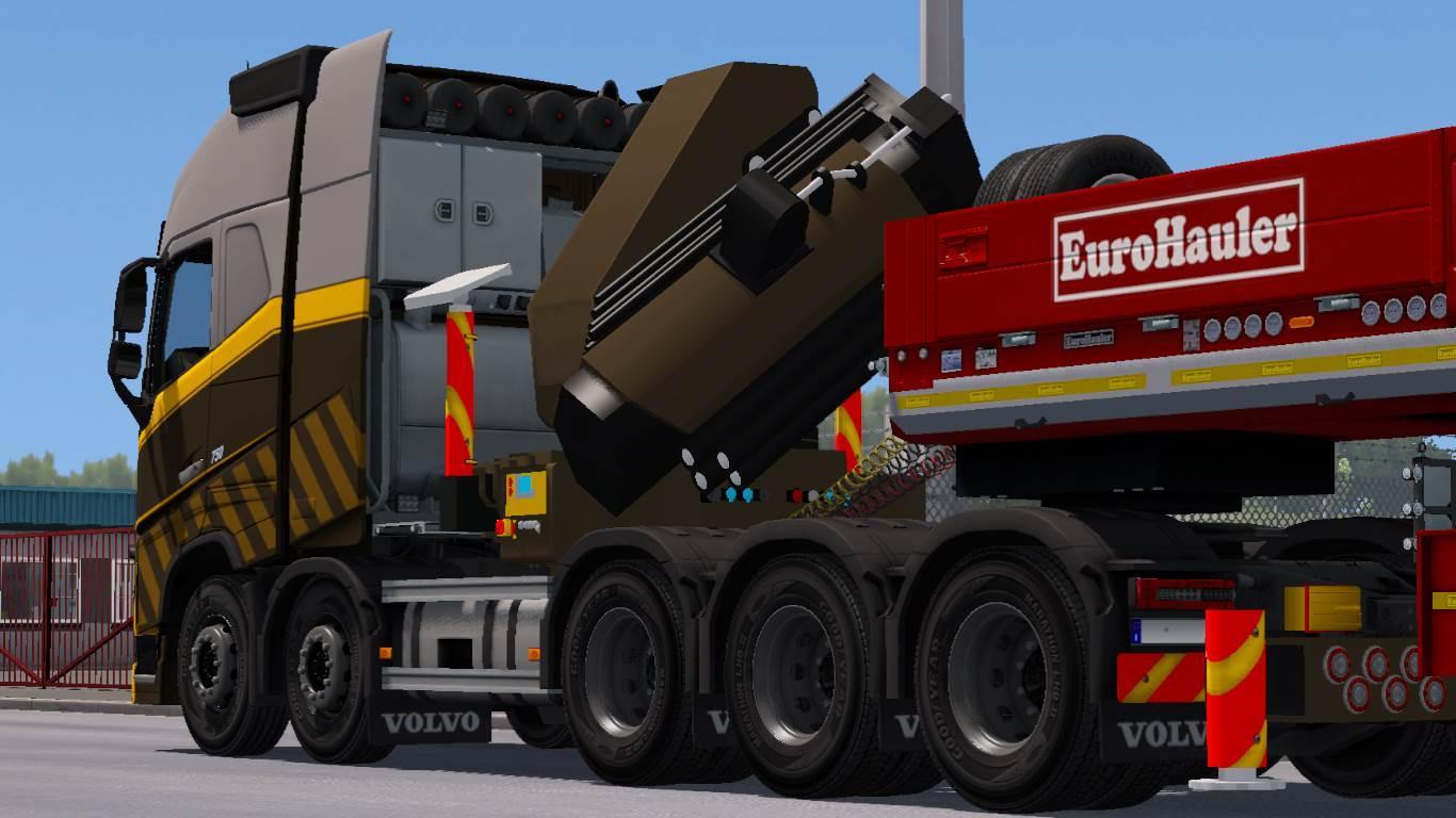 VOLVO FH16 2012 [RPIE] 1.31 TRUCK MOD -Euro Truck Simulator 2 Mods