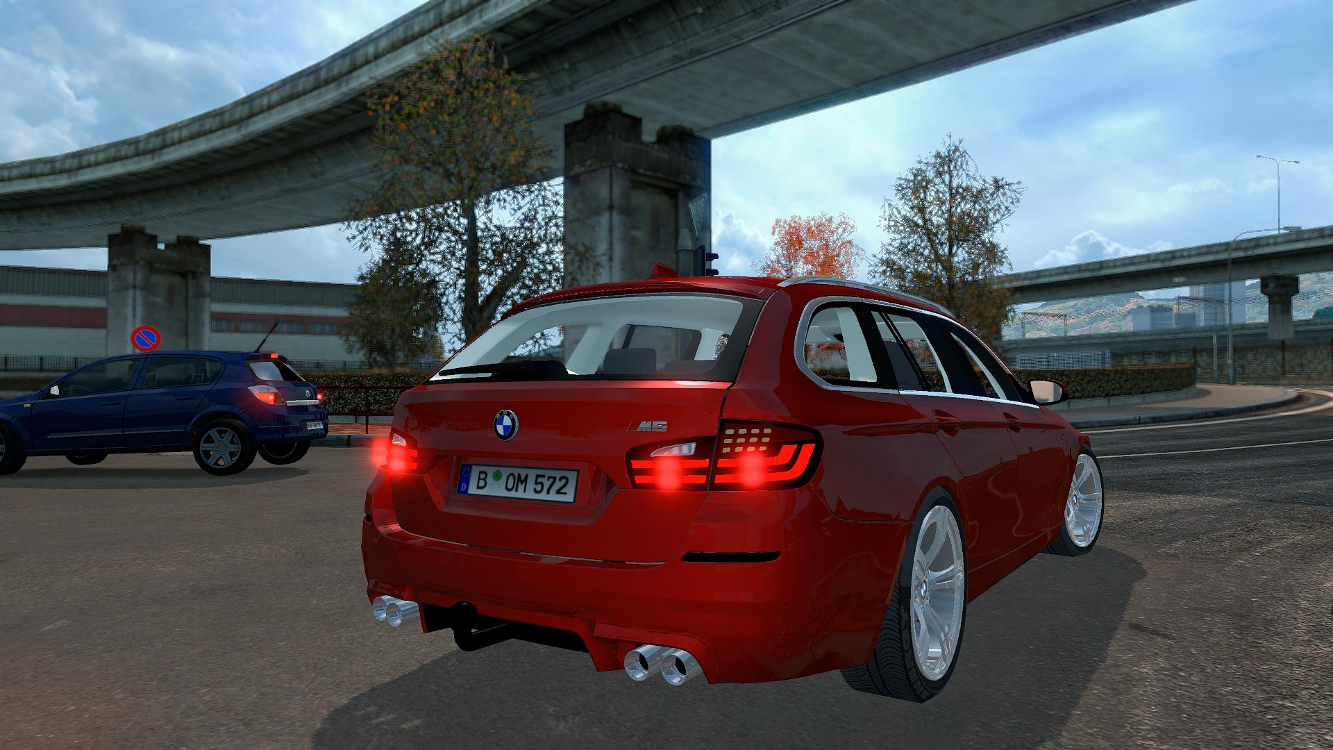 bmw m5 touring car mod euro truck simulator 2 mods. Black Bedroom Furniture Sets. Home Design Ideas