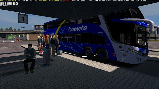 BUS STATION FOR ETS2 1 31 MOD -Euro Truck Simulator 2 Mods