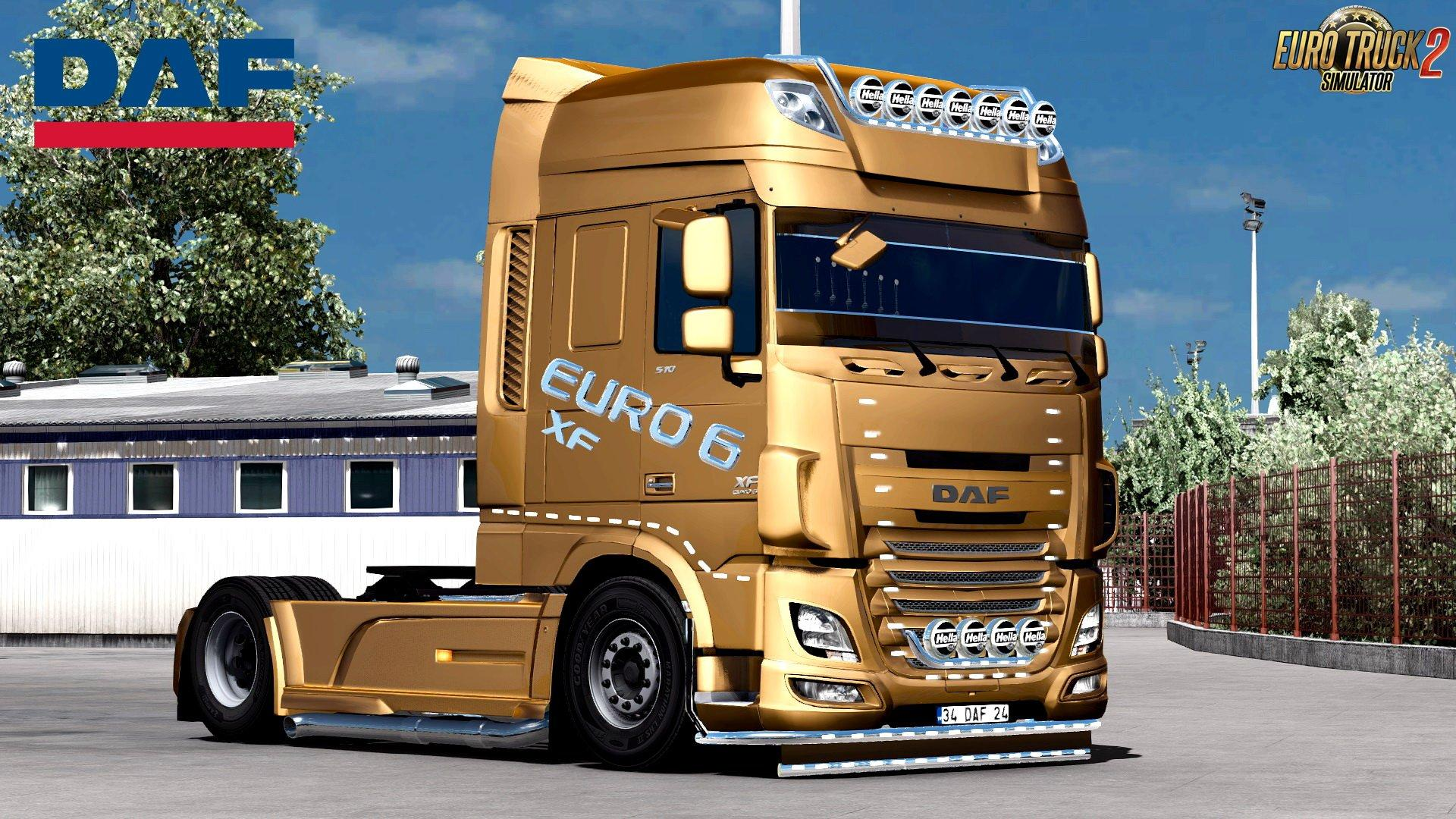 Daf Xf Euro 6 Edit By Buraktuna24 Update 1 31 X Truck Mod