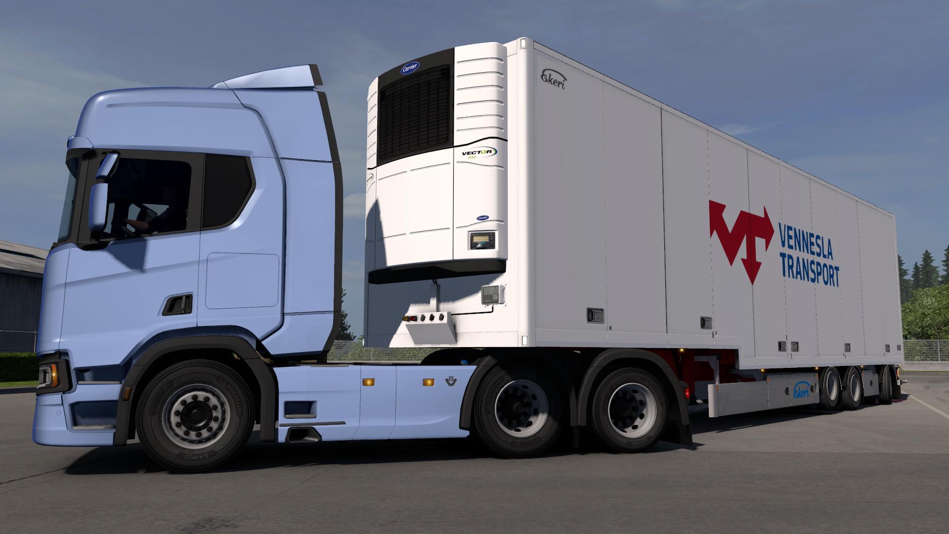 Ekeri Trailers By Kast V1 4 1 31 X Ets2 Euro Truck