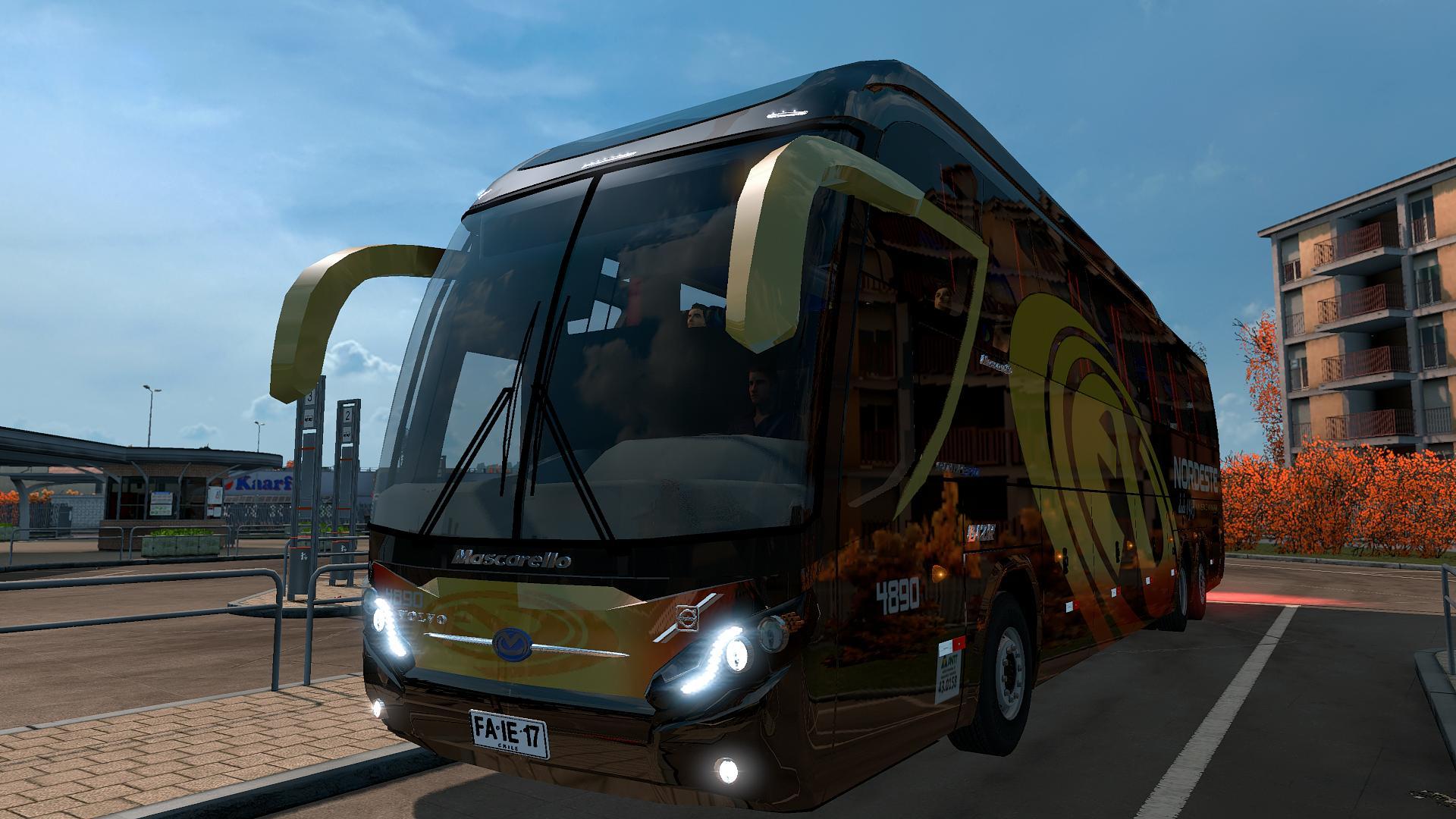 Mascarello Roma 370 6x2 For 1 31 Bus Mod Euro Truck