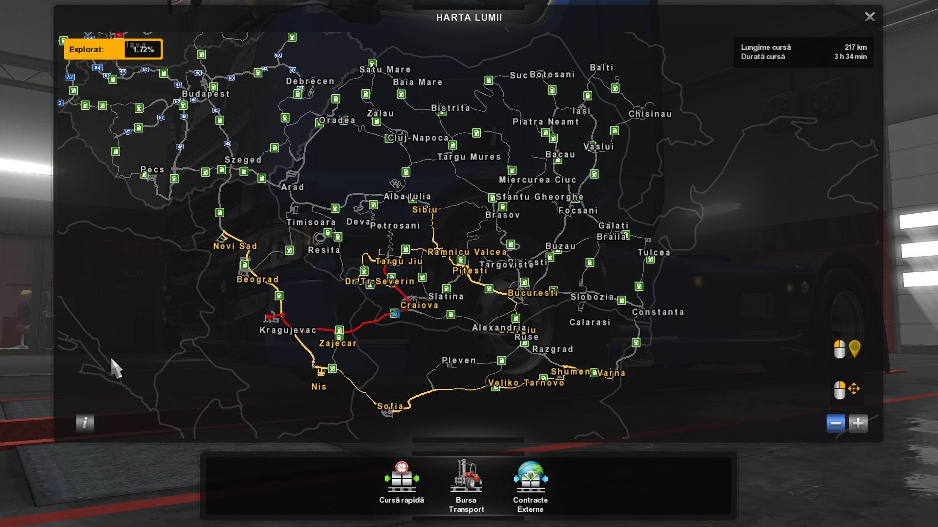 Romania Extended V1 4 1 30 1 31 Map Mod Euro Truck Simulator 2