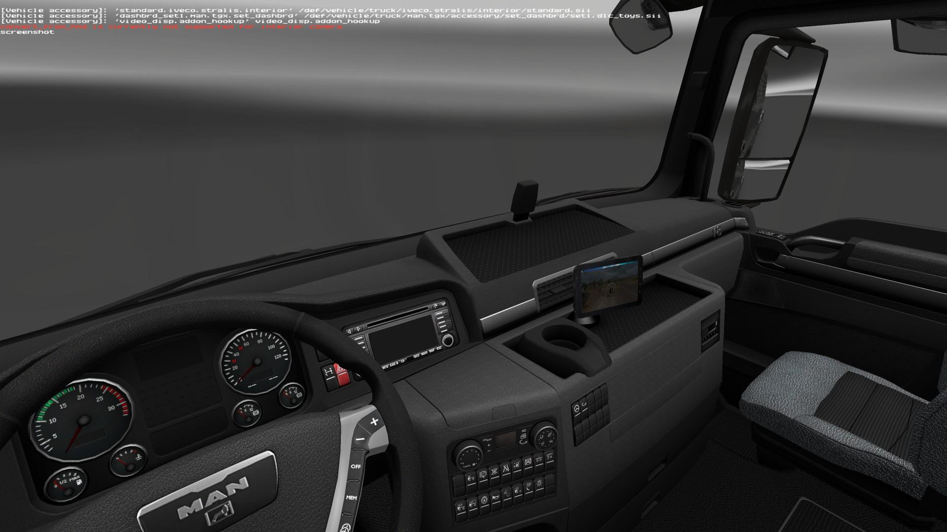 VIDEO PLAYER V0 2 4 1 TUNING MOD -Euro Truck Simulator 2 Mods