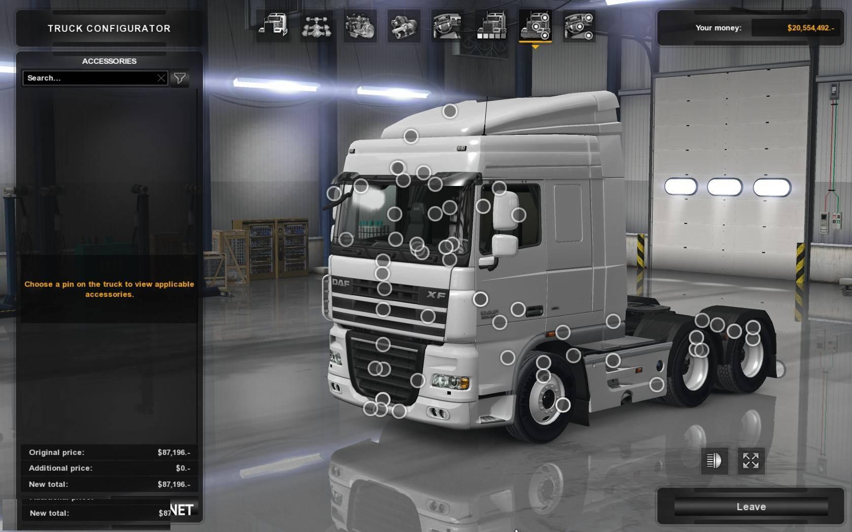 Daf Xf 105 Crawler 1 31 Mod Euro Truck Simulator 2 Mods