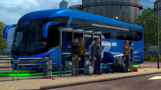 BUS STATIONS FOR 1 31 V1 1 MOD -Euro Truck Simulator 2 Mods