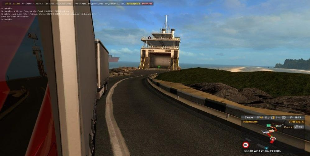 FERRY CONNECTION SR V7 2 - PRMOD V2 27 - ITALY DLC 1 31 X MAP MOD