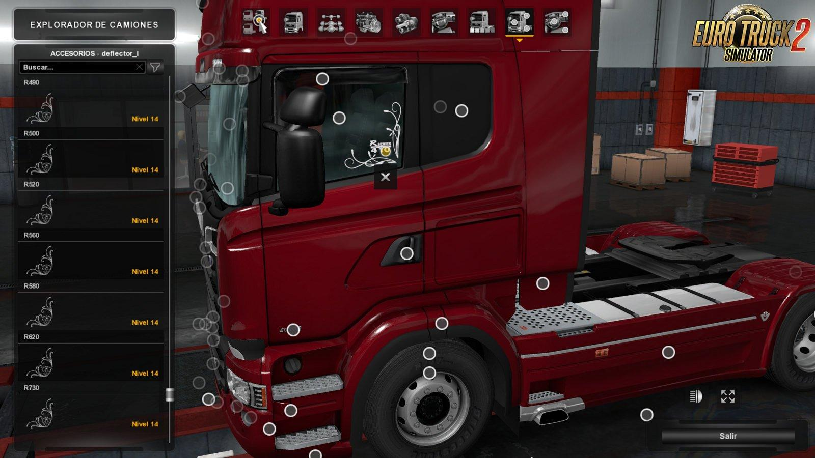Low deck improved chassis for rjls scania rs r4 pg v1 3 tuning mod