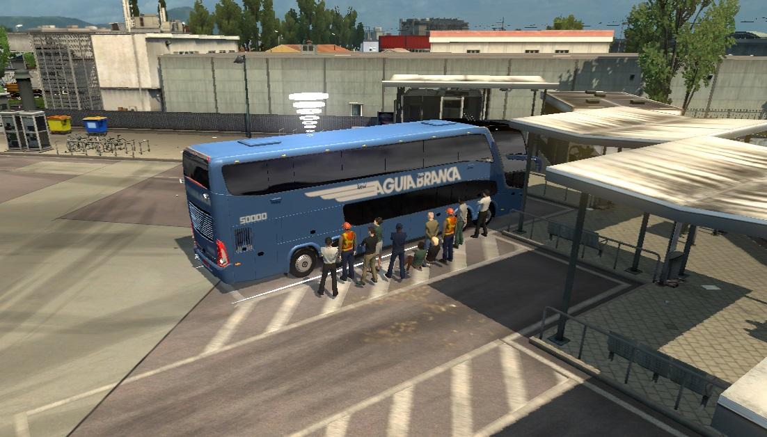 MARCOPOLO G7 1800 DD 1 31 X BUS MOD -Euro Truck Simulator 2 Mods