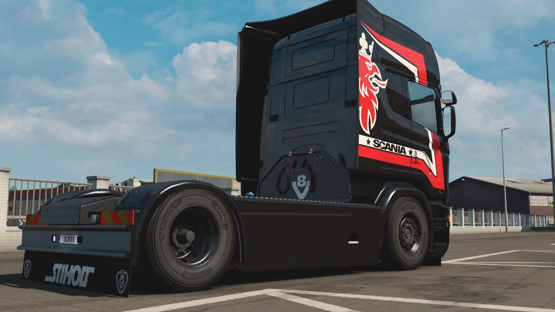 Scania R Rjl Sirius By L1zzy Truck Skin Euro Truck