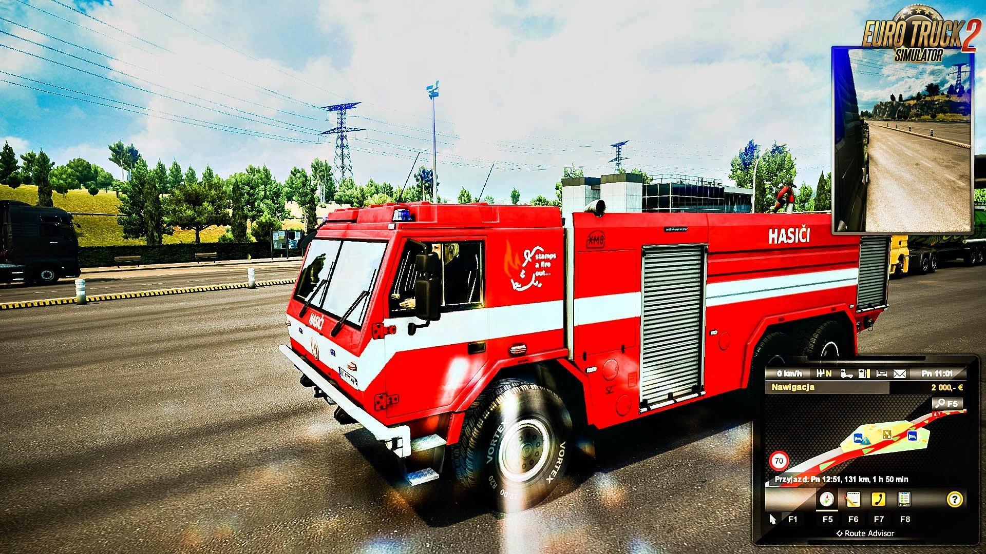 Special Vehicles Traffic V1 2 Mod Euro Truck Simulator 2