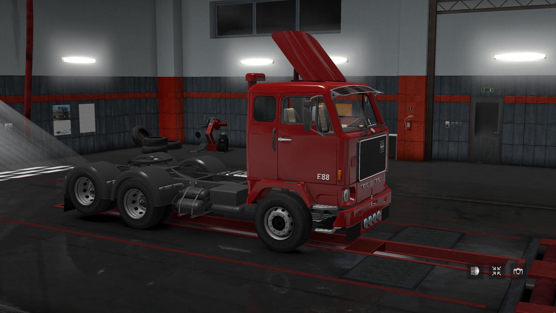 Volvo Truck Dealer >> VOLVO F88 V1.0 1.31.X TRUCK MOD -Euro Truck Simulator 2 Mods