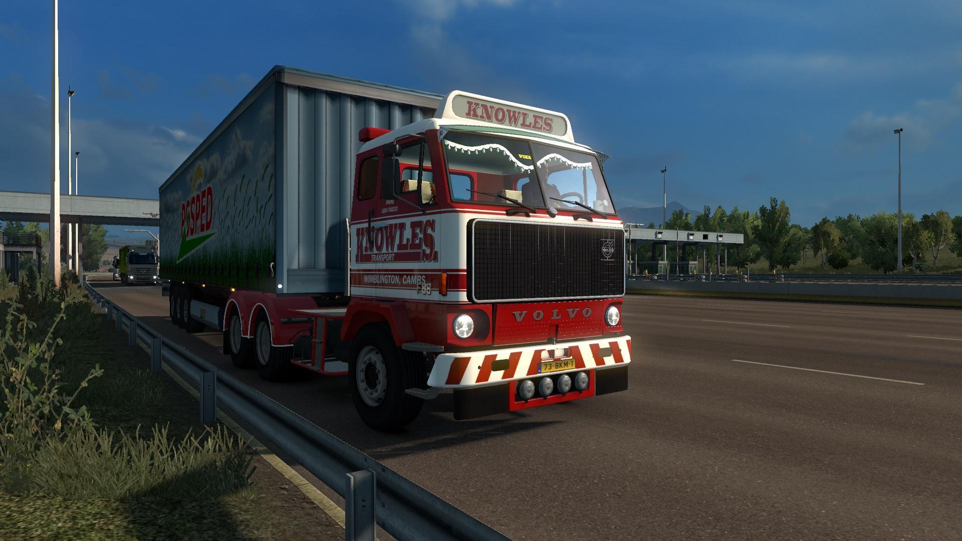volvo f88 v1 0 truck mod euro truck simulator 2 mods. Black Bedroom Furniture Sets. Home Design Ideas