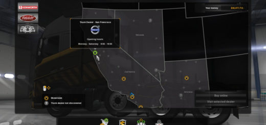 Volvo Truck Dealer >> Volvo Truck Dealer Euro Truck Simulator 2 Mods