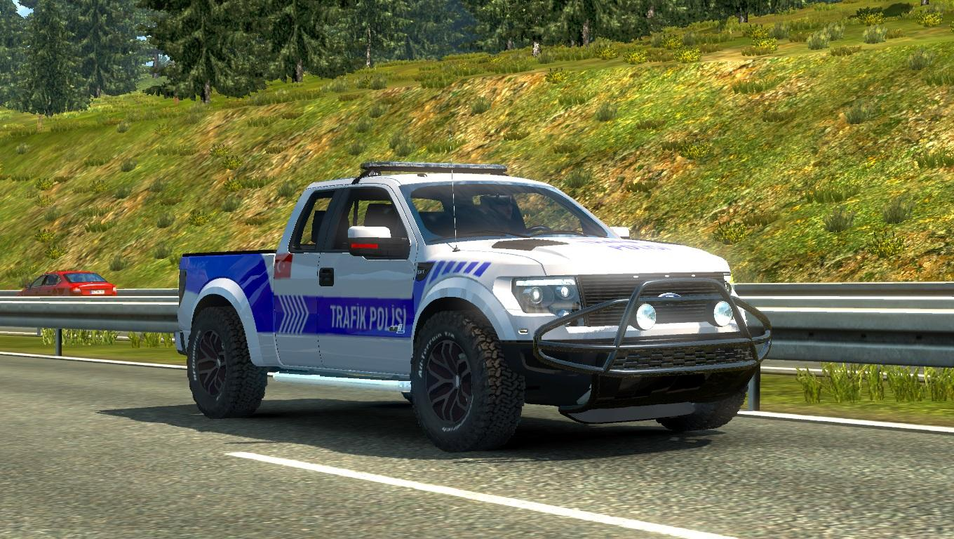 ford f150 raptor turkish police car paintjob v1 1 car mod. Black Bedroom Furniture Sets. Home Design Ideas