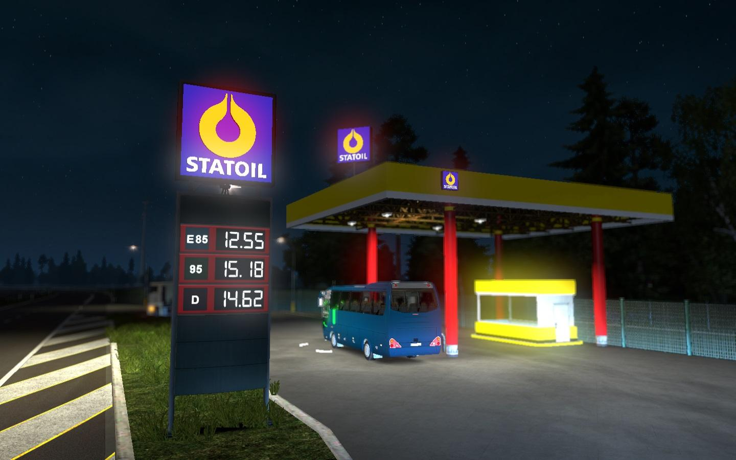 Used Cars And Trucks >> REAL EUROPEAN GAS STATIONS V1.0 MOD -Euro Truck Simulator 2 Mods