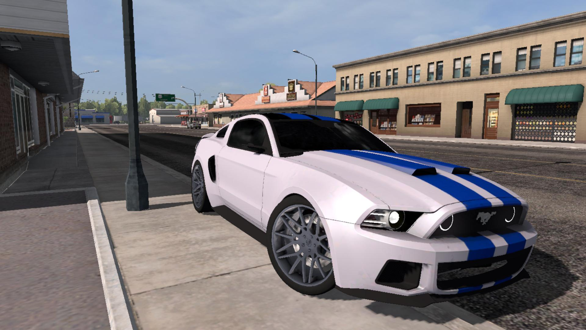 Ford Mustang Need For Speed v1.0 for ATS -Euro Truck ...